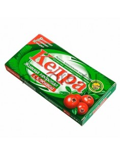 Kedra chewing gum with cedar resin and cranberries