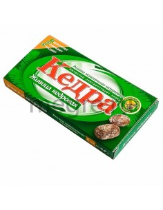 Kedra chewing gum with cedar resin natural