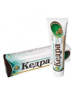 Kedra Natural Cedar Nut Oil Toothpaste with propolis